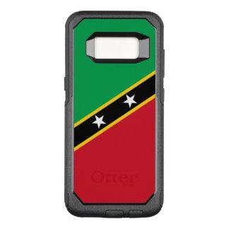 Capa OtterBox Commuter Para Samsung Galaxy S8 Bandeira do santo Kitts e Nevis Samsung OtterBox