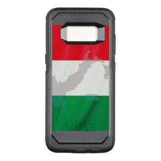Capa OtterBox Commuter Para Samsung Galaxy S8 bandeira e Italia italianas