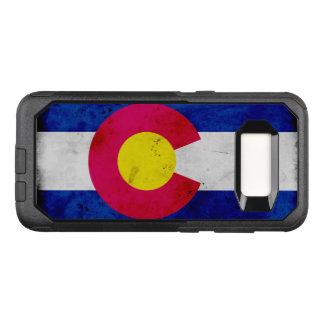 Capa OtterBox Commuter Para Samsung Galaxy S8 Bandeira patriótica do estado de Colorado do