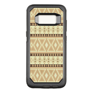 Capa OtterBox Commuter Para Samsung Galaxy S8 bege tribal extravagante do teste padrão (i)