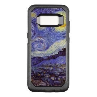 Capa OtterBox Commuter Para Samsung Galaxy S8 Belas artes do vintage da noite estrelado de