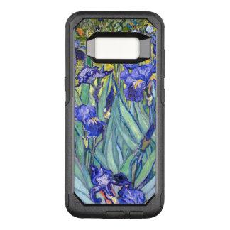 Capa OtterBox Commuter Para Samsung Galaxy S8 Belas artes florais do vintage das íris de Vincent