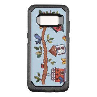 Capa OtterBox Commuter Para Samsung Galaxy S8 Birdhouses