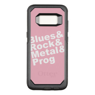 Capa OtterBox Commuter Para Samsung Galaxy S8 Blues&Rock&Metal&Prog (branco)