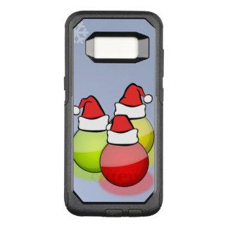 Capa OtterBox Commuter Para Samsung Galaxy S8 Bolas do papai noel