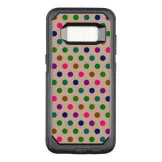 Capa OtterBox Commuter Para Samsung Galaxy S8 Bolinhas da caixa da galáxia S8 de Samsung