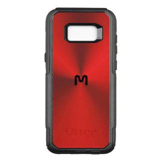 Capa OtterBox Commuter Para Samsung Galaxy S8+ Borda metálica vermelha S8 de Otterbox do