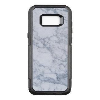 Capa OtterBox Commuter Para Samsung Galaxy S8+ Branco & claro modernos - pedra de mármore