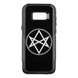 Capa OtterBox Commuter Para Samsung Galaxy S8+ Branco Unicursal do Hexagram de Falln