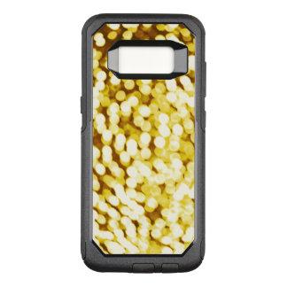 Capa OtterBox Commuter Para Samsung Galaxy S8 Brilho Bokeh do ouro