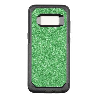Capa OtterBox Commuter Para Samsung Galaxy S8 Brilho do verde de Elegante