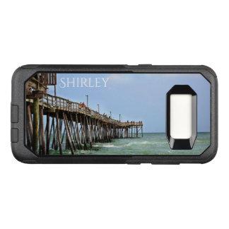 Capa OtterBox Commuter Para Samsung Galaxy S8 Cais da pesca por Shirley Taylor