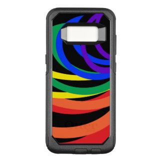 Capa OtterBox Commuter Para Samsung Galaxy S8 Caixa abstrata da galáxia S8 de OtterBox Samsung