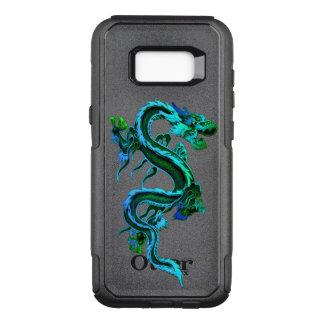 Capa OtterBox Commuter Para Samsung Galaxy S8+ Caixa chinesa azul de Otterbox Samsung S8 do
