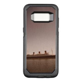 Capa OtterBox Commuter Para Samsung Galaxy S8 Caixa envelhecida da lontra de Queen Mary do