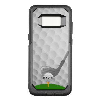 Capa OtterBox Commuter Para Samsung Galaxy S8 Caixa Golfing da lontra do design