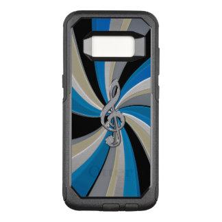 Capa OtterBox Commuter Para Samsung Galaxy S8 Caixa metálica azul de Otterbox S8 do Clef da
