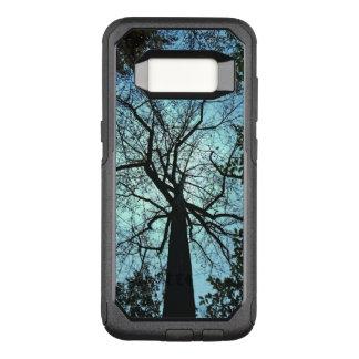 Capa OtterBox Commuter Para Samsung Galaxy S8 Caixa preta da galáxia S8 de OtterBox do céu azul
