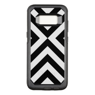 Capa OtterBox Commuter Para Samsung Galaxy S8 Caixa preto e branco corajosa das vigas