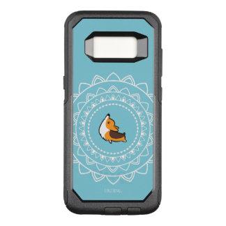 Capa OtterBox Commuter Para Samsung Galaxy S8 Caixa Tricolor de Otterbox do Corgi de Namaste