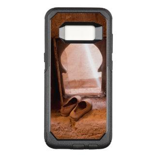 Capa OtterBox Commuter Para Samsung Galaxy S8 Calçados marroquinos na janela