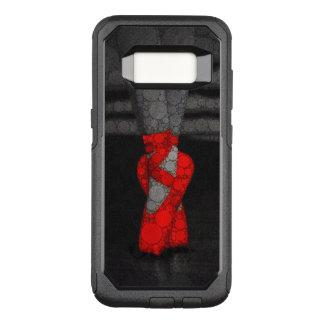 Capa OtterBox Commuter Para Samsung Galaxy S8 Calçados vermelhos de Pointe do balé
