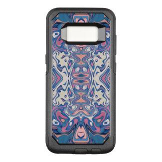 Capa OtterBox Commuter Para Samsung Galaxy S8 Camadas caóticas coloridas