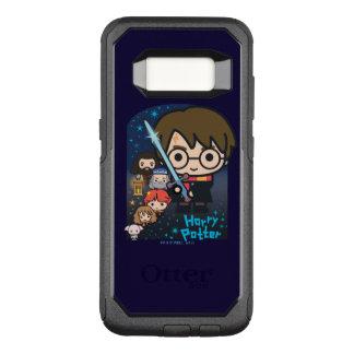 Capa OtterBox Commuter Para Samsung Galaxy S8 Câmara de Harry Potter dos desenhos animados dos