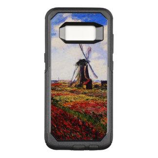 Capa OtterBox Commuter Para Samsung Galaxy S8 Campos das Monet-Tulipas de Claude