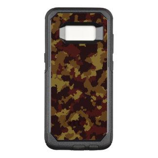 Capa OtterBox Commuter Para Samsung Galaxy S8 Camuflagem de Brown