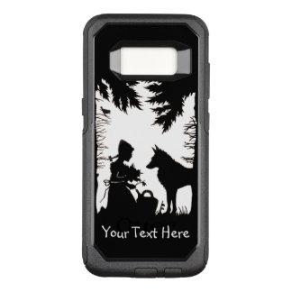 Capa OtterBox Commuter Para Samsung Galaxy S8 Capa de equitação no lobo das madeiras que