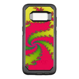 Capa OtterBox Commuter Para Samsung Galaxy S8 Capa de telefone chinesa do Fractal do dragão do