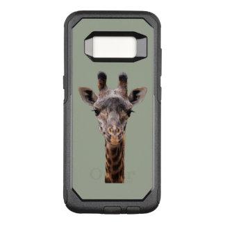 Capa OtterBox Commuter Para Samsung Galaxy S8 Capa de telefone de Otterbox do girafa