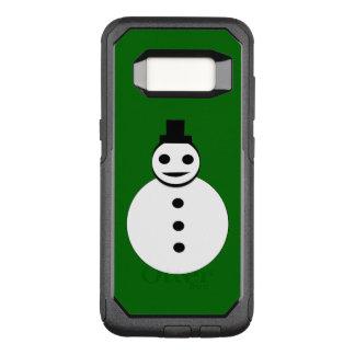 Capa OtterBox Commuter Para Samsung Galaxy S8 Capa de telefone de sorriso do boneco de neve do