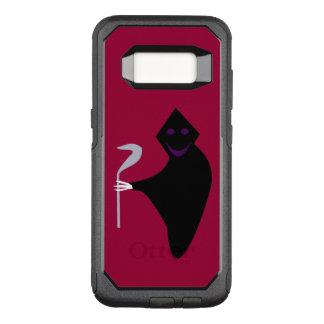 Capa OtterBox Commuter Para Samsung Galaxy S8 Capa de telefone do Dia das Bruxas do Ceifador