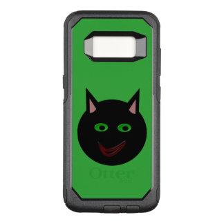 Capa OtterBox Commuter Para Samsung Galaxy S8 Capa de telefone do gato preto do Dia das Bruxas