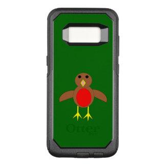 Capa OtterBox Commuter Para Samsung Galaxy S8 Capa de telefone do pisco de peito vermelho do