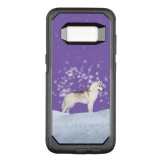 Capa OtterBox Commuter Para Samsung Galaxy S8 Capa de telefone do rouco Siberian de Samsung