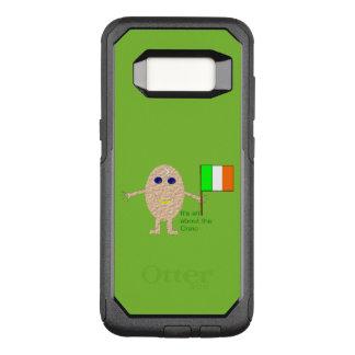 Capa OtterBox Commuter Para Samsung Galaxy S8 Capa de telefone irlandesa patriótica do ovo