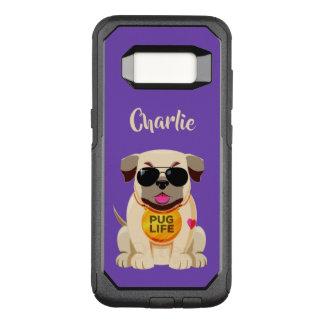 Capa OtterBox Commuter Para Samsung Galaxy S8 Capas de telefone feitas sob encomenda do nome &