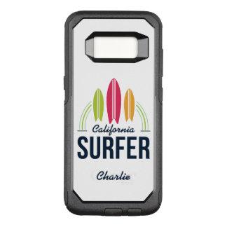 Capa OtterBox Commuter Para Samsung Galaxy S8 Capas de telefone feitas sob encomenda do surfista
