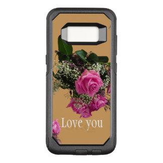 Capa OtterBox Commuter Para Samsung Galaxy S8 Caso de Otterbox com amor que você projeta