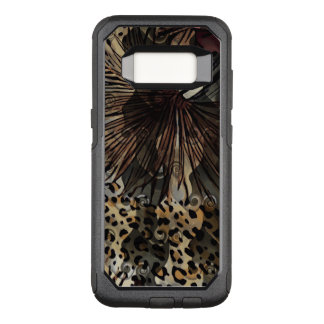 Capa OtterBox Commuter Para Samsung Galaxy S8 Caso de Otterbox da galáxia de Samsung do leopardo