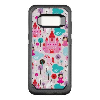 Capa OtterBox Commuter Para Samsung Galaxy S8 castelo e unicórnio da princesa dos miúdos