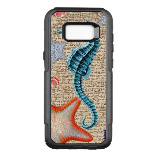 Capa OtterBox Commuter Para Samsung Galaxy S8+ Cavalo marinho gasto