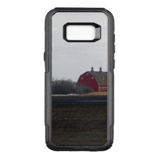 Capa OtterBox Commuter Para Samsung Galaxy S8+ Celeiro do vermelho da primavera