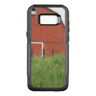 Capa OtterBox Commuter Para Samsung Galaxy S8+ Celeiro vermelho grande