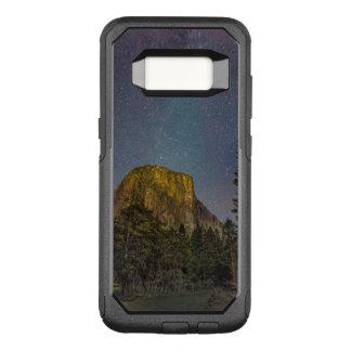 Capa OtterBox Commuter Para Samsung Galaxy S8 Céu nocturno do EL Capitan do vale de Yosemite