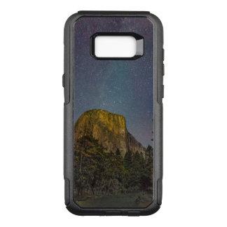 Capa OtterBox Commuter Para Samsung Galaxy S8+ Céu nocturno do EL Capitan do vale de Yosemite