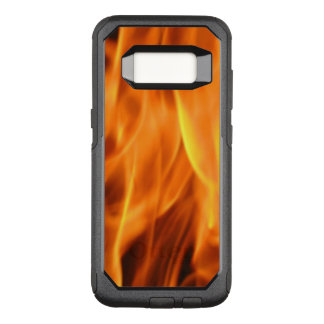 Capa OtterBox Commuter Para Samsung Galaxy S8 Chamas do fogo